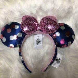 Disney Sequin Polka dots Minnie mouse ears